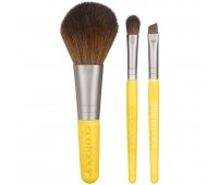 Мини набор 3 кисти EcoTools Mini Essentials Set 3 Brushes