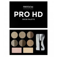 Набор для бровей Fair  Medium Freedom Makeup London Pro HD Brow Palette