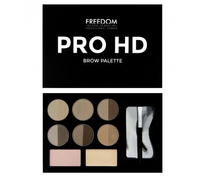 Набор для бровей Freedom Makeup London Pro HD Brow Palette
