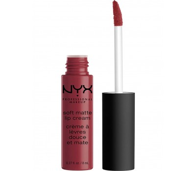 "Жидкая помада для губ ""Budapest""  NYX Professional Makeup Soft Matte Lip Cream"