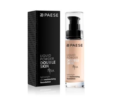 Тональный крем Paese LIQUID POWDER DOUBLE SKIN AQUA
